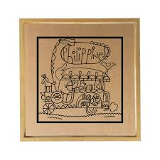 philippine jeep drawing philippine jeepney paper clay craft kit papemelroti