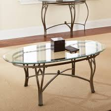 glass table ls amazon round glass top metal end table coffee and side tables accent
