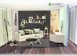 simple livingroom keep simple livingroom at simcredible designs sims 4