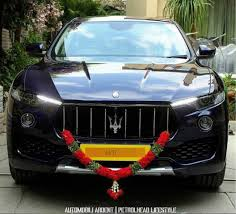 levante maserati interior first maserati levante for indian market spotted in bengaluru
