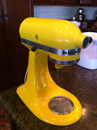 Kitchen Aid Mixers by How To Paint Your Kitchen Aid Mixer Little Bits Of
