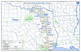 Bryan Ohio Map by Where The Keystone Xl Pipeline Would Go Through Texas