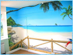 cool beach wall decals home decorations ideas image of picture of beach wall decals