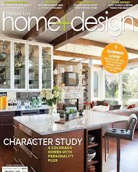 Home And Design Magazine Pocci Interior Design Group Colorado