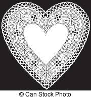 heart shaped doilies doily illustrations and clipart 12 327 doily royalty free