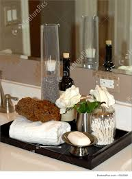 picture of toiletries and bath items