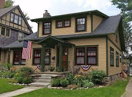 exterior paint colors craftsman style homes home design craftsman