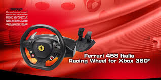 458 italia thrustmaster thrustmaster 458 italia racing wheel for pc xbox 360 tm