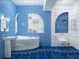 lovely blue and white bathroom ideas nice modern blue and