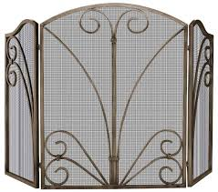 Fireplace Metal Screen by Metal Decorative Fireplace Screens With Doors Home Fireplaces