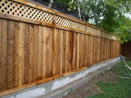 Types Of Garden Fencing Peachy Image Privacy Fence Styles Gate Ideas Privacy Fence Styles