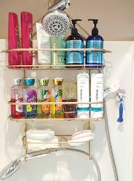Garage Sale Organizers - to easily restore your rusty shower caddy to brand new