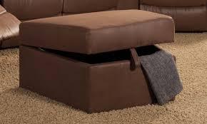 small brown storage ottoman u2013 home improvement 2017 brown