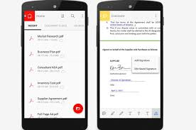adobe reader android apk adobe acrobat reader v17 1 1 apk karan mobi