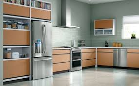 Modern Kitchen Wall Colors Stylish Modern Cabinet With Soft Grey Wall Color For Modern
