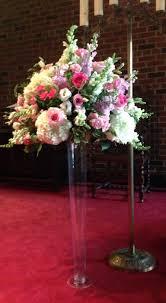 Tall Glass Vase Flower Arrangement Wedding Decor Packages Old Mill Toronto Hotel