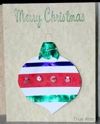 christmas crafts for kids handmade christmas ornament cards