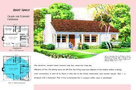 1950s House Floor Plans Readvillage Craf Momchuri