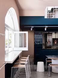 a melbourne restaurant with an au courant color palette remodelista