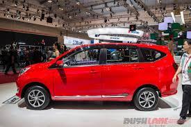 Daihatsu Mpv Daihatsu Sigra Mpv Breaks Cover At 2016 Indonesia Auto Show Giias