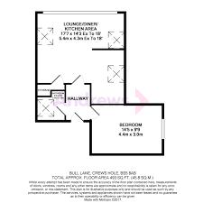 Afc Floor Plan by 1 Bedroom Flat Bull Lane Crews Hole Bs5 8ab