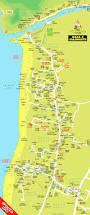 Goa Map Baga U0026 Calangute Beaches