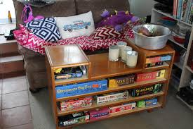 Diy Storage Coffee Table by 8 Awesome Diy Table Hacks To Make Better Board Game Nights