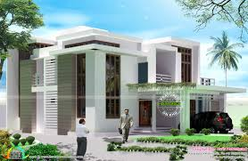 5 bedroom contemporary style house kerala home design and floor