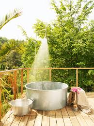Garden Bathroom Ideas by 55 Beautiful Outdoor Bathroom Ideas Designbump