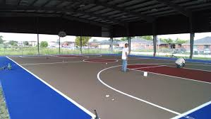 Backyard Tennis Courts Tennis Court Construction Tennis Court Refinishing Pickle Ball