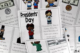 presidents u0027 day emergent reader a dab of glue will do