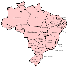 Blank Map Of Northeast States by Brazil Map Map Of Brazil Brazilian Mapbrazil My Country
