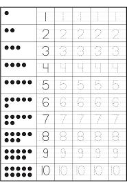 worksheet tracing numbers worksheets luizah worksheet and essay