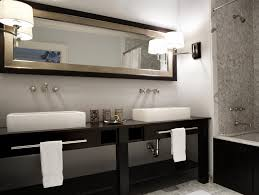 double sink bathroom ideas black and white bathroom designs hgtv