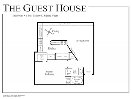 House Plans With Attached Guest House 100 2 Bedroom Guest House Floor Plans One Bedroom Cabin