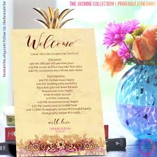 acrylic nail art the one thing thats on every bride to bes itinerary indian wedding itinerary wedding welcome bag printable