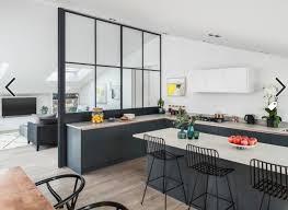 cuisine ouverte avec bar sur salon cuisine ouverte sur salon avec bar usaginoheya maison