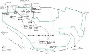 joshua tree california map joshua tree national park 2004 visitor study wikisource the