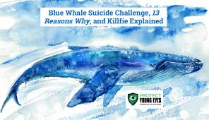 Water Challenge Explained Blue Whale Challenge 13 Reasons Why Killfie Protect