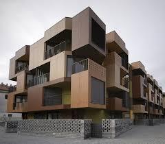 Tetris Exterior Apartment Building Design Model ARCH  Apartment - Apartment building designs