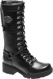 harley motorcycle boots harley davidson women s harland 11 inch black mid calf motorcycle