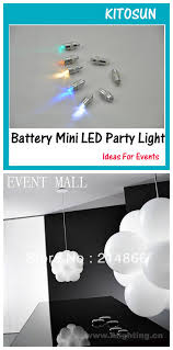 mini led light for crafts battery operated waterproof balloon