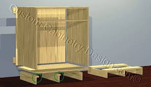 Plywood Cabinet Construction Frameless Cabinets Plans Construction Diy Project Building Benefits
