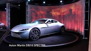 Aston Martin Db10 James Bond S Car From Spectre James Bond Spectre Aston Martin Db10 At The La Auto Show 2015