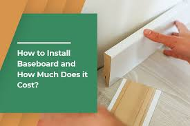 how much does it cost to install a flat pack kitchen how to install baseboard and how much does it cost