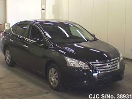 nissan bluebird 2005 2013 nissan bluebird sylphy black for sale stock no 38931