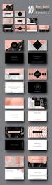 Design Business Cards Print At Home 18 Rose Gold Business Cards Bundle On Etsy Includes Kit Of 10