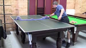 Brunswick Table Tennis Table Tennis Table Top Youtube