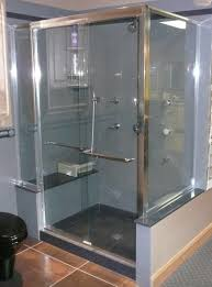 bathroom glass door installation home decor shower stalls with glass doors undermount sink