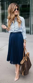 pleated skirt best 25 pleated skirts ideas on pleated skirt